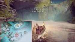god of war elven artefact locations