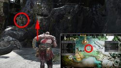 god of war how to reach top muspelheim tower lake of nine
