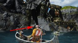 god of war how to return to witch's cave