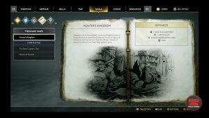 god of war hunter's kingdom treasure map