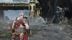 god of war island of light scroll location