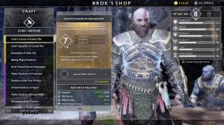 god of war ivaldis curias of endless mist niflheim best armor