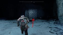 god of war mountain area return
