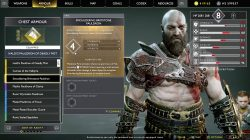 god of war muspelheim armor smouldering brimstone pauldron