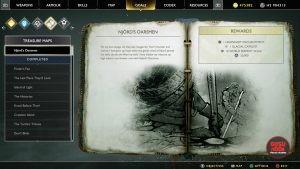 god of war njords oarsmen treasure map