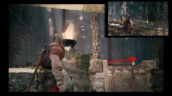 god of war river pass cave spike puzzle