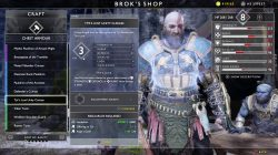 god of war tyrs lost unity cuirass armor