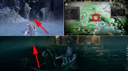 god of war where to find njords oarsmen treasure map