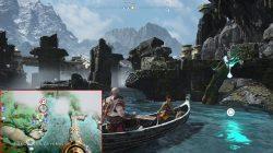 god of war yggdrasil's dew lake of nine