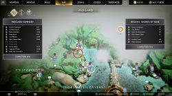 gow historian treasure map