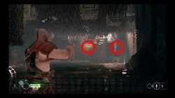 spiked ceiling river pass puzzle god of war how to solve