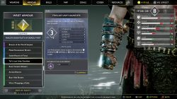tyrs lost unity gauntlets god of war armor