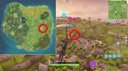 where to find retail row treasure map location fortnite br