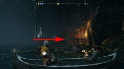 witchs cave god of war how to go back