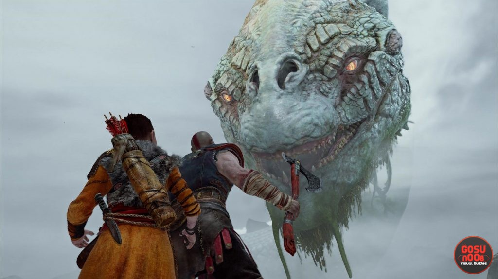 world serpent in god of war 2018