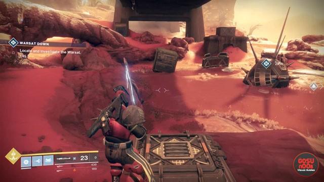 Destiny 2 Warsat Down Mars Public Event How to Make Heroic
