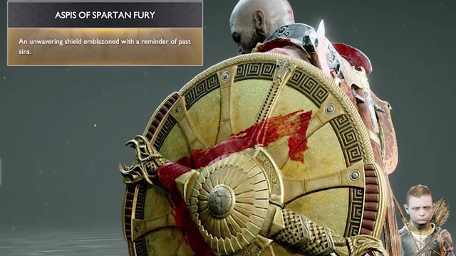 God of War Aspis of Spartan Fury & Radiant Shield of Unity - How to Get