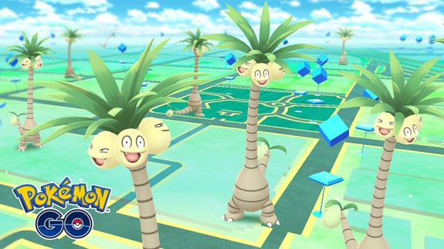 Pokemon GO Gets First Alolan Pokemon Exeggutor