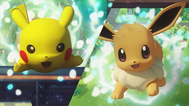 Pokemon Let's Go Pikachu & Eevee Announced for Nintendo Switch