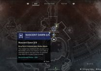 destiny 2 nascent dawn 2/5 javelin kills psionic potential heroic