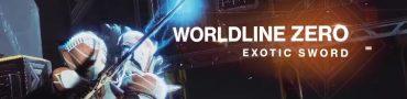 destiny 2 worldline zero exotic sword