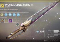 destiny 2 worldline zero exotic weapon