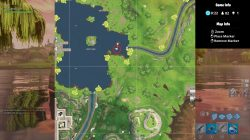 fortnite battle royale tomato town treasure map star location