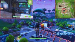 fortnite br greasy grove chests sporting goods store