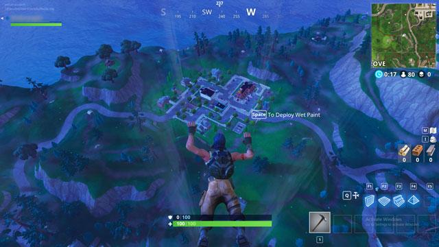 fortnite br greasy grove treasure map location