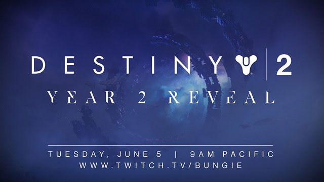 Destiny 2 Year 2 Reveal Stream Announced by Bungie