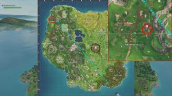 fortnite br haunted hills treasure map weekly challenge