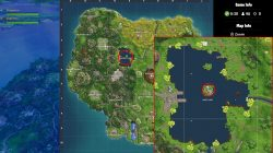 fortnite br loot lake poster location