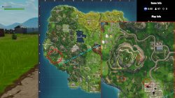 fortnite br playground campsite footprint