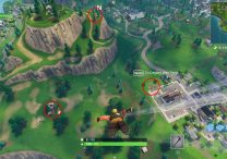 fortnite br search between playground campsite footprint
