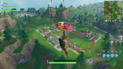 fortnite br where to find football field