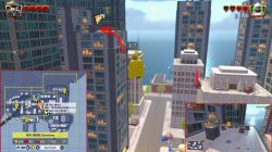 lego incredibles downtown monitor location
