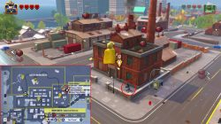 lego incredibles industrial district screen location