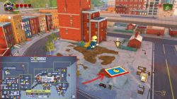 lego incredibles red brick locations cheats
