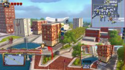 lego incredibles waterfront monitor location