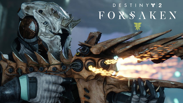 Destiny 2 Forsaken New Weapons & Armor Shown in Trailer
