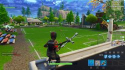 Fortnite BR Soccer Pitch Location