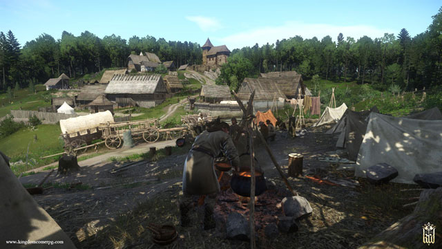 How to Get Stone, Charcoal, Grain - From The Ashes Kingdom Come DLC