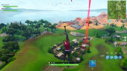 fortnite basketball hoop locations trailer park