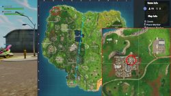 fortnite br basketball hoop locations junk junction