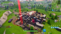 fortnite br container yard basketball court