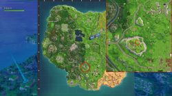 fortniite br follow the treasure map found in flush factory