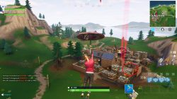 fortnite br junk junction basketball court