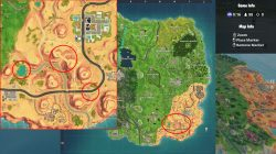 fortnite br search between oasis rock archway dinosaurs