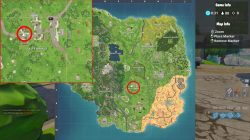 fortnite br search floating lightning bolts salty springs