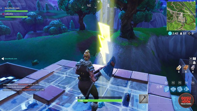 fortnite br search floating lightning bolts